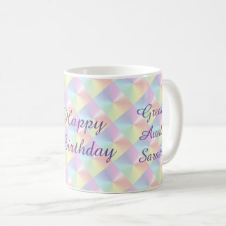 Great Aunt Birthday Diamond Shimmer Mug by Janz