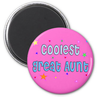 Great Aunt Gifts 2 Inch Round Magnet