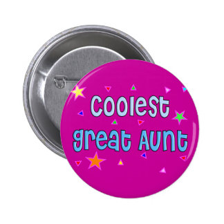Great Aunt Gifts Pinback Buttons
