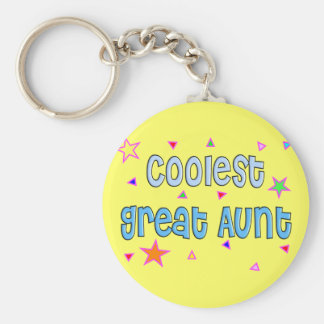 Great Aunt Gifts Keychain