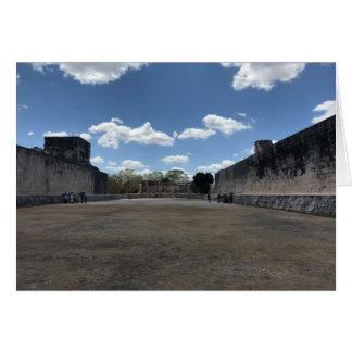 Great Ball Court, Chichen Itza Card