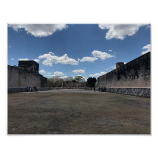 Great Ball Court, Chichen Itza Poster