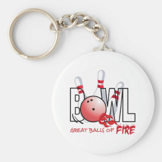 GREAT BALLS OF FIRE KEYCHAIN