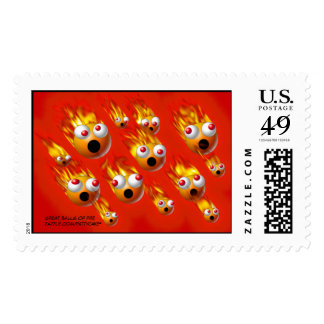 great balls of fire postage