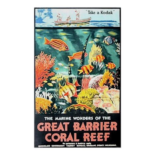 Great Barrier Coral Reef Poster
