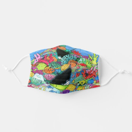 Great Barrier Reef Adult Cloth Face Mask
