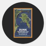 Great Barrier Reef Australia Classic Round Sticker