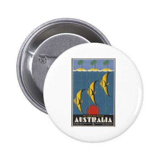 Great Barrier Reef Australia Pin
