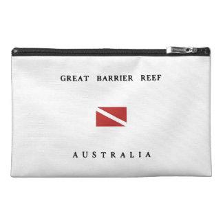 Great Barrier Reef Australia Scuba Dive Flag Travel Accessory Bag
