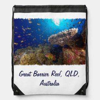 Great Barrier Reef - Drawstring Backpack