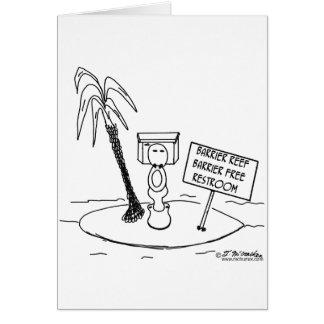 Great Barrier Reef Free Restroom Card