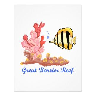 Great Barrier Reef Letterhead