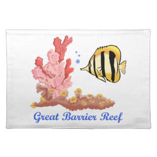 Great Barrier Reef Cloth Placemat