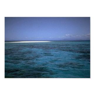 Great Barrier Reef, Queensland, Australia 5x7 Paper Invitation Card