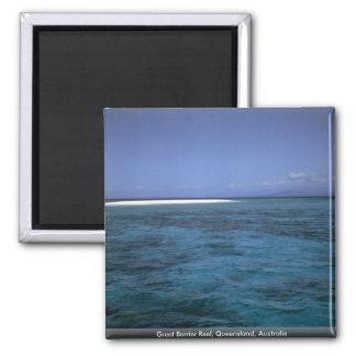 Great Barrier Reef, Queensland, Australia Refrigerator Magnet