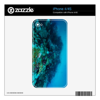 Great Barrier Reef Tropical Fish Coral Sea iPhone 4S Skin