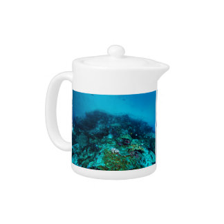 Great Barrier Reef Tropical Fish Coral Sea Teapot
