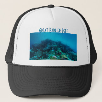 Great Barrier Reef Tropical Fish Coral Sea Trucker Hat