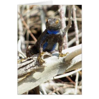Great Basin Fence Lizard at Joshua Tree Card