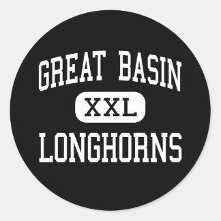 Great Basin - Longhorns - High - Cedarville Classic Round Sticker