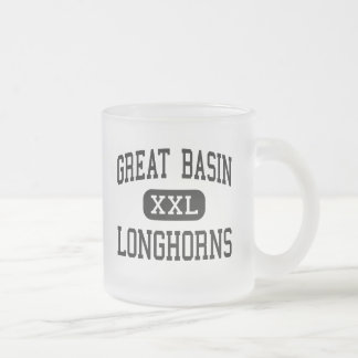 Great Basin - Longhorns - High - Cedarville Frosted Glass Coffee Mug