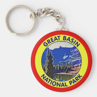 Great Basin National Park, Nevada Basic Round Button Keychain