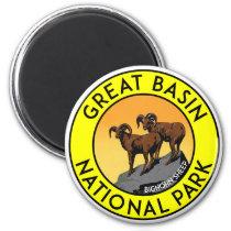 Great Basin National Park Nevada Big Horn Sheep Magnet
