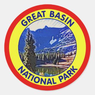 Great Basin National Park, Nevada Classic Round Sticker