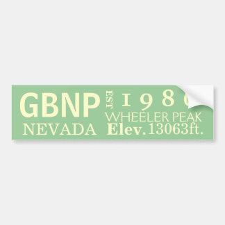 Great Basin national park stats Bumper Sticker