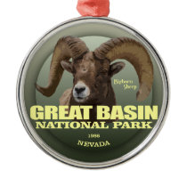 Great Basin NP (Bighorn) WT Metal Ornament
