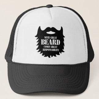 Great Beard - Great Responsability Trucker Hat