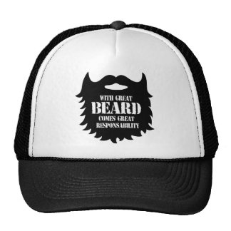 Great Beard - Great Responsability Trucker Hat