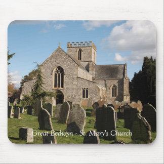 Great Bedwyn St Mary's Church Mouse Pad