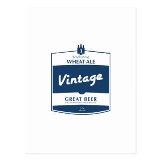 Great beer postcard