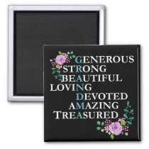 Great best grandma Magnet Gift for Grandmother