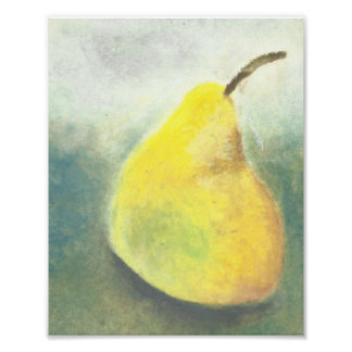 Great Big Yellow Pear Poster