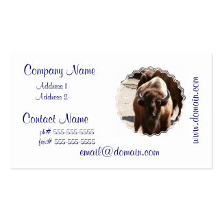 Great Bison Business Card Template