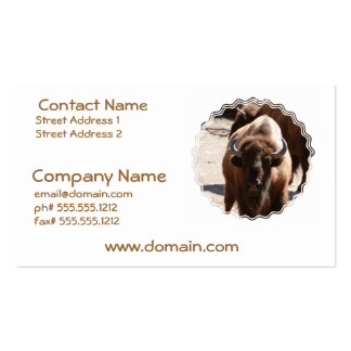 Great Bison Business Cards