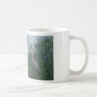 Great Blue Heron and Great Egret Coffee Mug