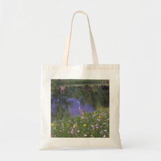 """""""Great Blue Heron and Reflections"""" Bag"""
