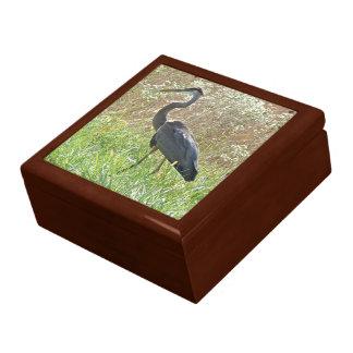 Great Blue Heron - Ardea herodias - #2 Trinket Boxes