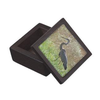 Great Blue Heron - Ardea herodias - #2 Premium Keepsake Boxes