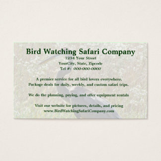 Great Blue Heron - Ardea herodias Business Card