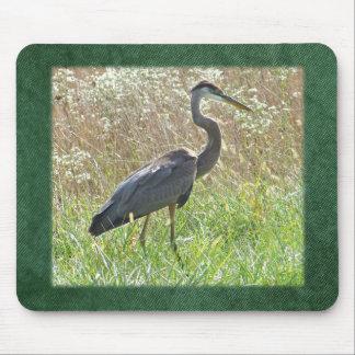 Great Blue Heron - Ardea herodias Mouse Pad
