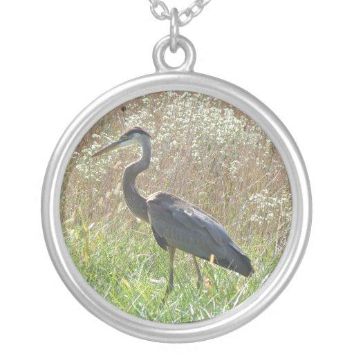 Great Blue Heron - Ardea herodias Custom Jewelry