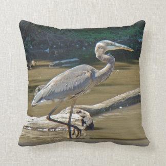 Great Blue Heron - Ardea herodias Pillow