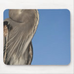 Great Blue Heron Ardea herodias) Puerto Mouse Pad