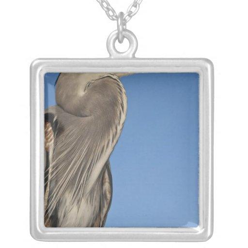 Great Blue Heron Ardea herodias) Puerto Custom Jewelry