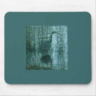Great Blue Heron at dusk Mouse Pad