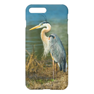 Great Blue Heron at the Pond iPhone 8 Plus/7 Plus Case